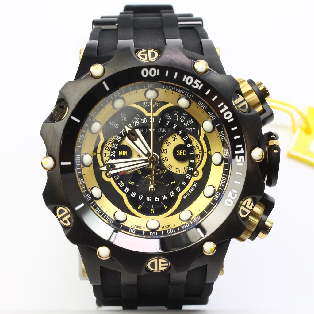 Car Audio Shop >> Invicta Venom Chronograph Watch With Box | Property Room