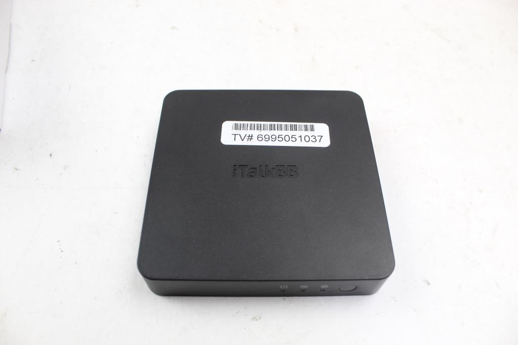 ITalkBB Chinese Internet TV Box S8g40   Property Room