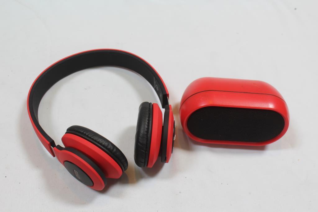 85115457003 Jam Headphones, Iworld Speaker 2 Pieces   Property Room