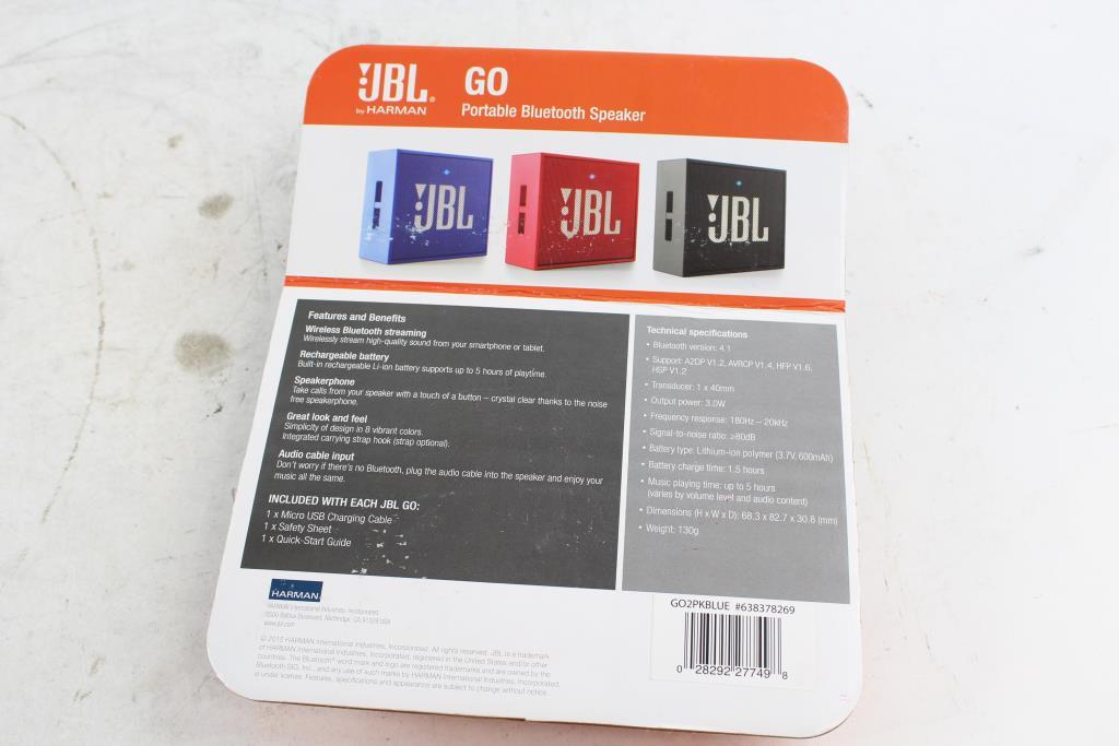 Jbl Bluetooth Go  Jbl Go Portable Bluetooth Waterproof