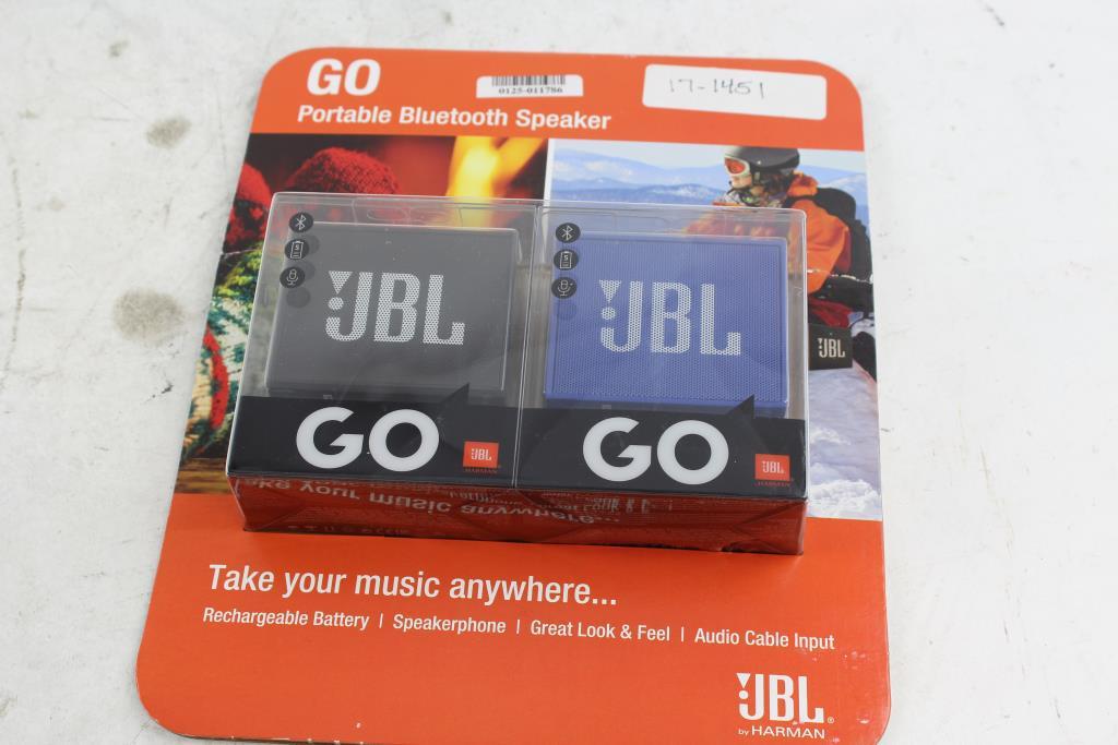 jbl go portable bluetooth speaker 2 pack property room. Black Bedroom Furniture Sets. Home Design Ideas