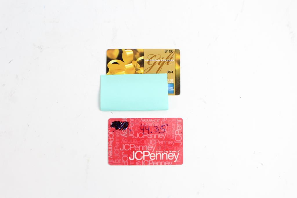 An Image Relevant To This Listing Jcpenney And American Express Gift Cards