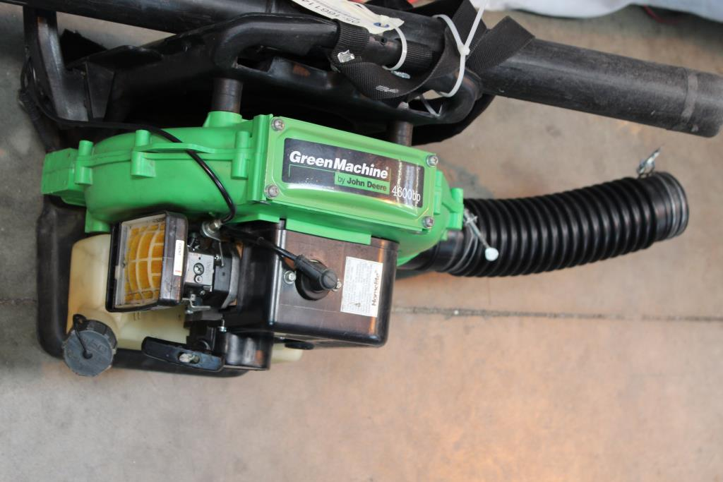 John Deere Green Machine Bp Backpack Blower on John Deere Parts Diagrams