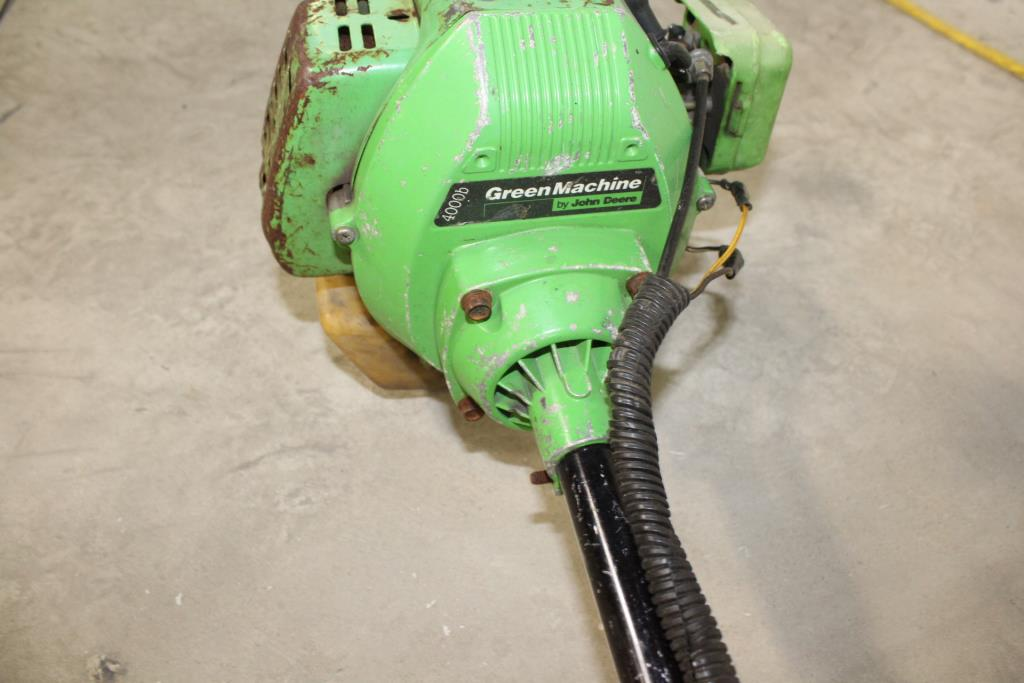 John Deere Green Machine String Trimmer | Property Room