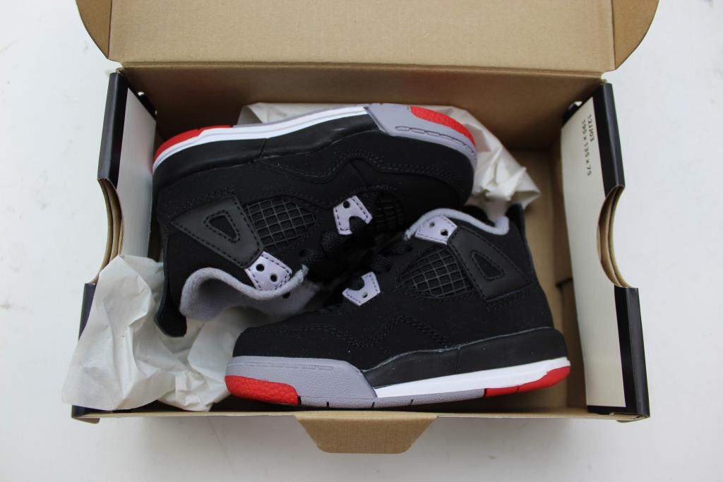 new product 77f48 a8eb6 Jordan 4 Retro Toddler Shoes; Size 5c | Property Room