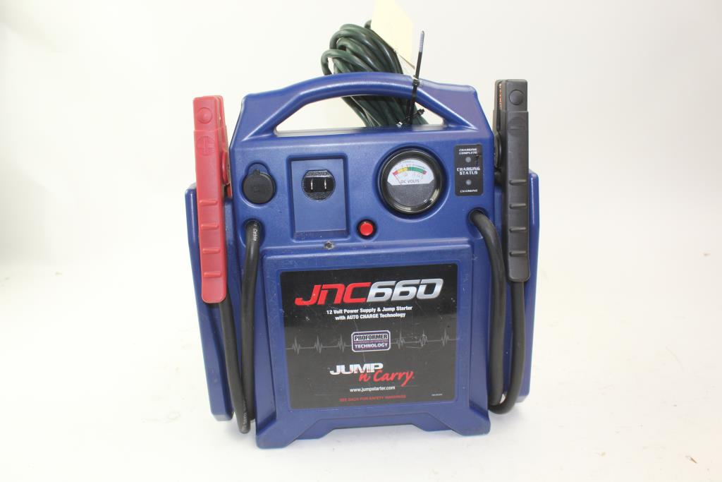 Jump N Carry Jnc660 >> Jump N Carry Jnc660 12 V Power Supply Jump Starter Power