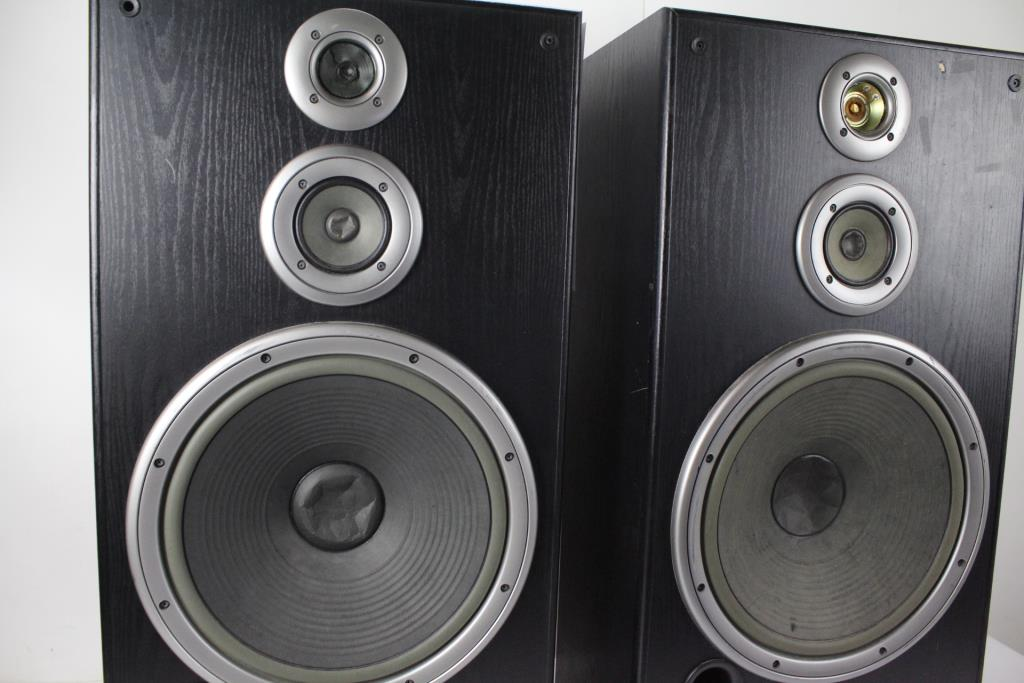 Jvc Sp7700 Speakers 1 Pair Property Room