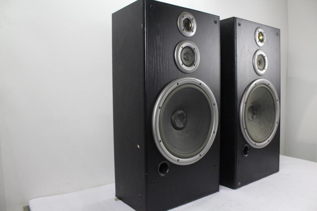 JVC SP7700 Speakers, 1 Pair   Property Room