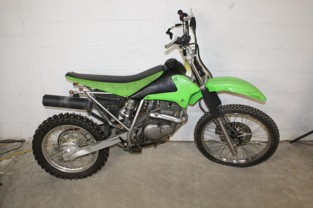 Kawasaki KLX 125 Dirtbike Sold For Parts