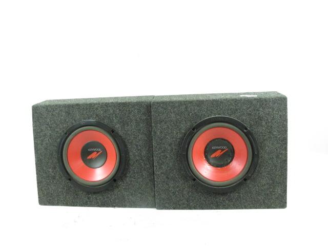 Kenwood Car Speaker Boxes & Power Amp, 3 Items | Property Room