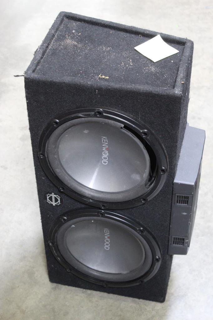 Kenwood Car Speaker With Amp | Property Room