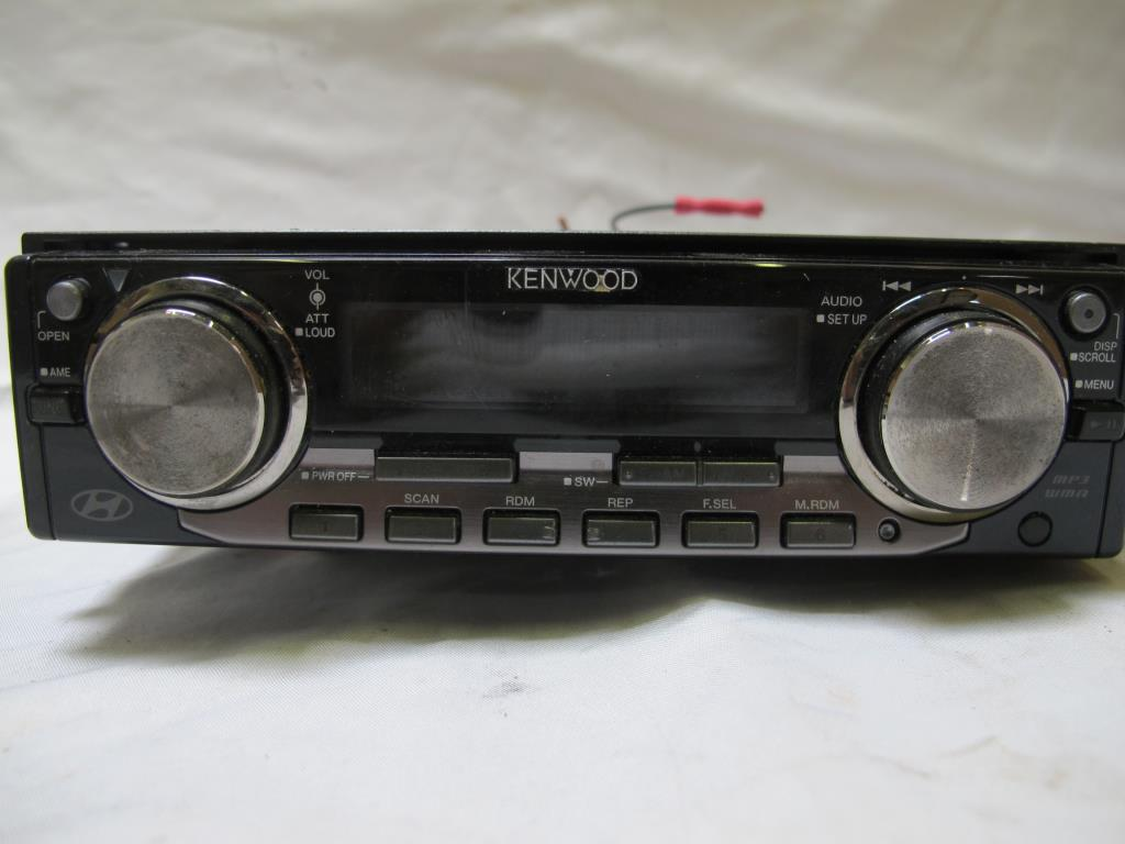 Kenwood Sony Jvc Car Stereos 4 Pieces Property Room Stereo Audio