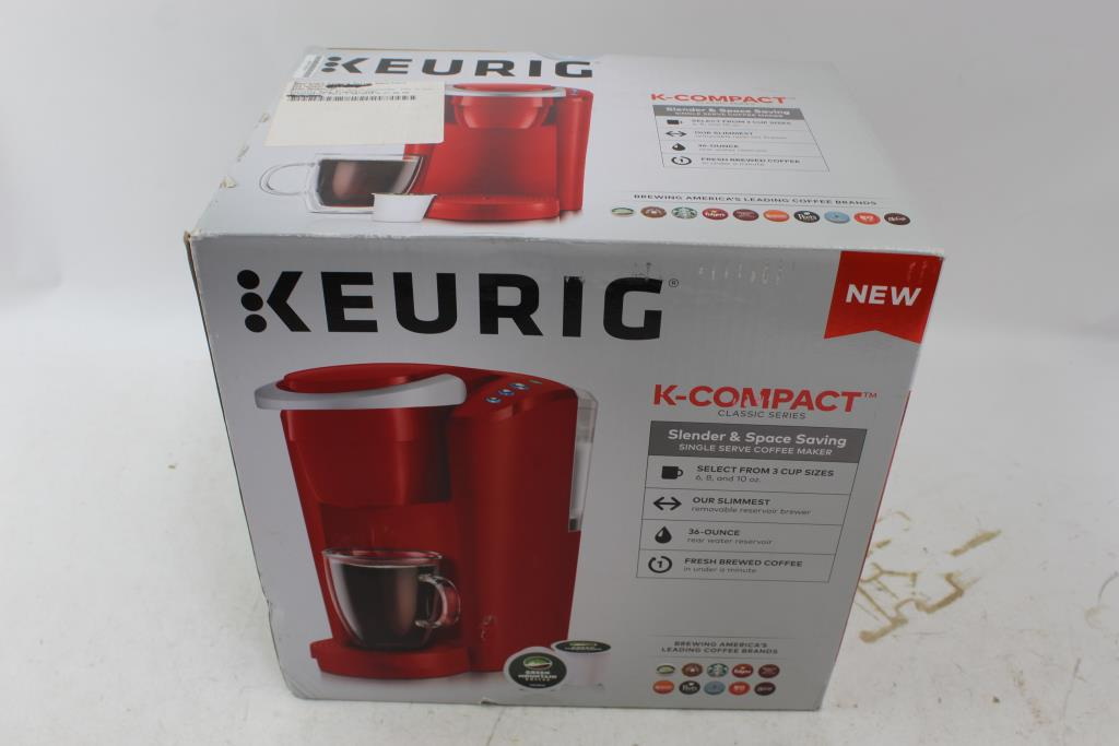 Keurig K Compact Single Serve K Cup Pod Coffee Maker Property Room