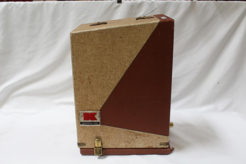 Keystone 8mm Film Projector With Case   Property Room