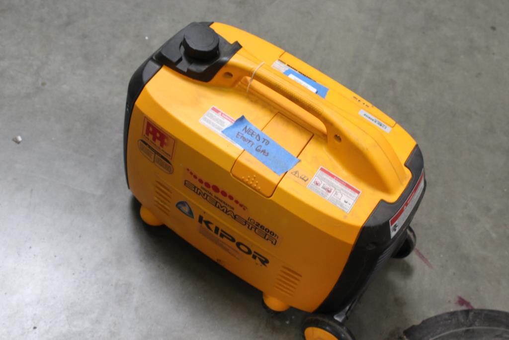 Kipor IG2600H Sinemaster Digital Generator | Property Room
