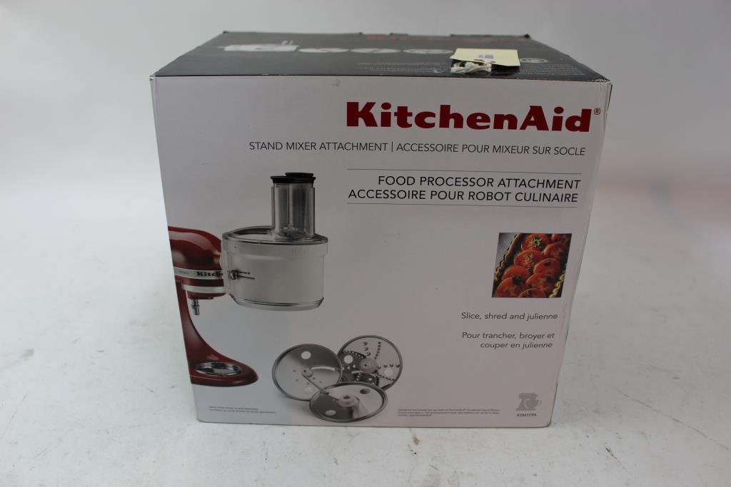 Kitchen Aid Stand Mixer Attachment Food Processor Attachment ...