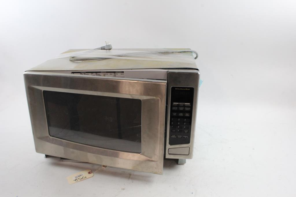 Kitchen Aid Microwave Property Room