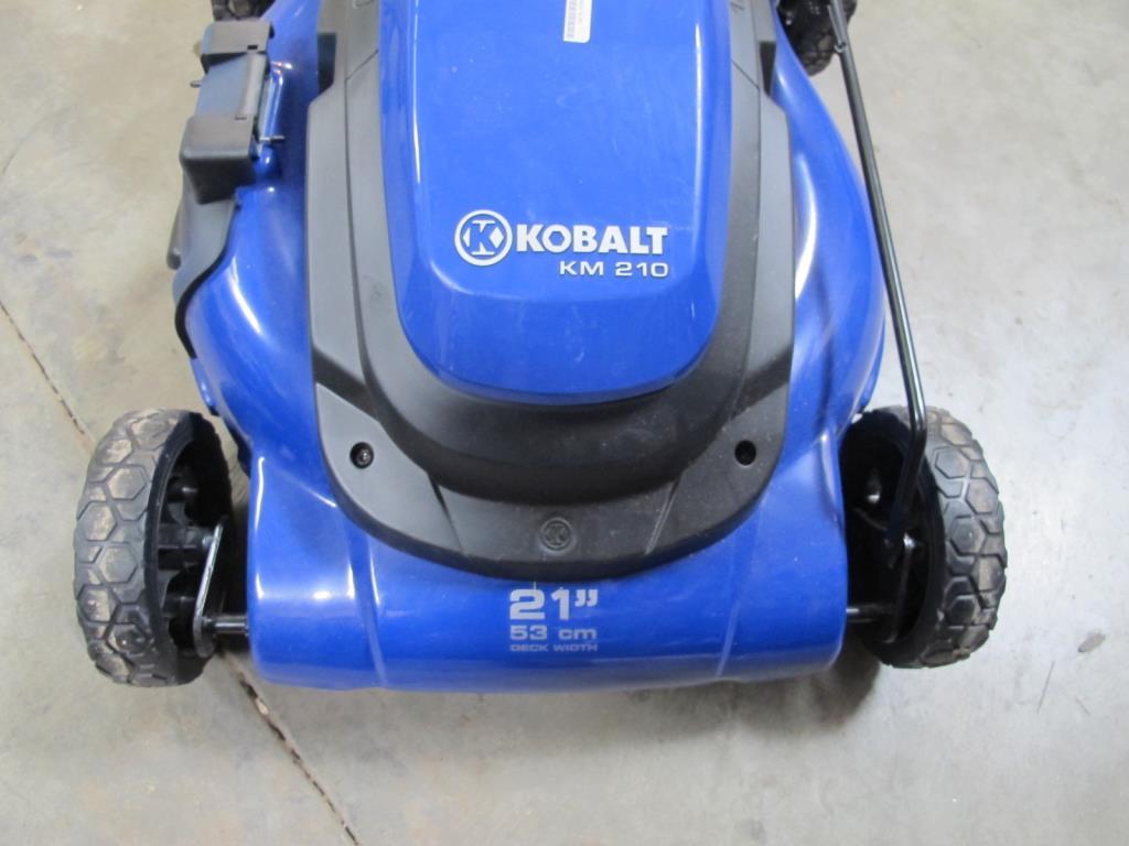 Kobalt Tools Review >> Kobalt Model KM210 Electric Lawn Mower | Property Room