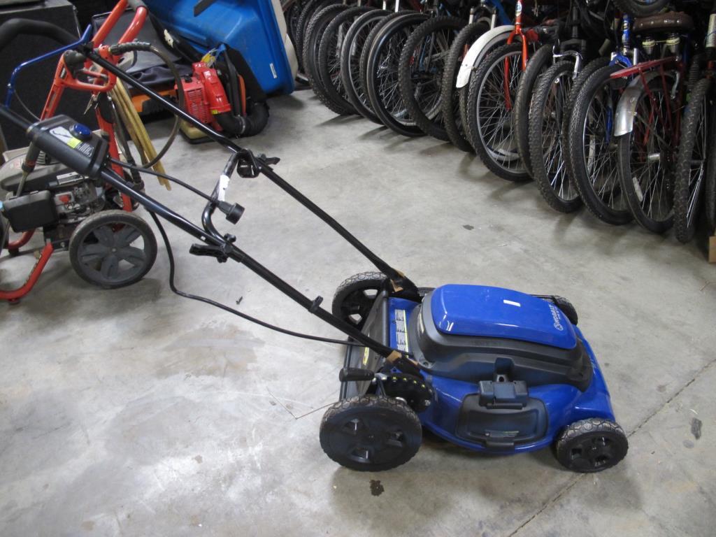 Kobalt Model Km210 Electric Lawn Mower Property Room