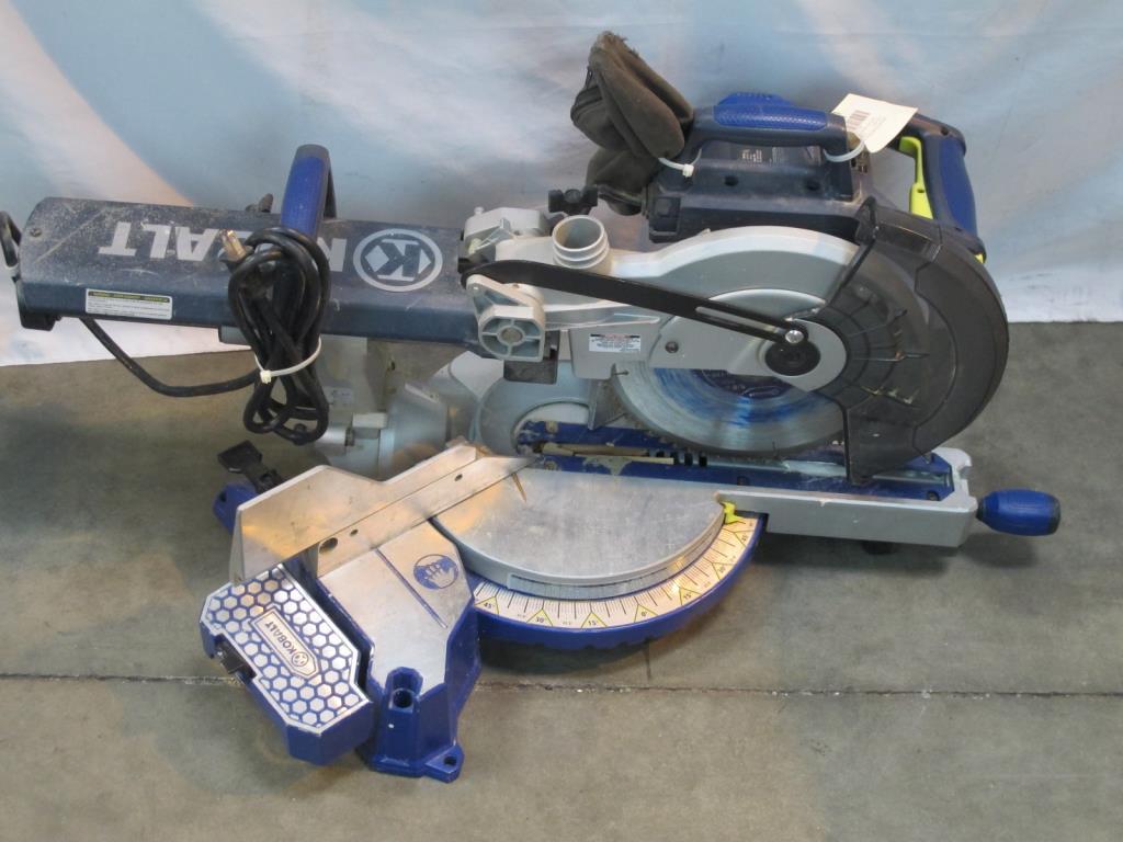 Kobalt Sliding Laser Compound Miter Saw Property Room