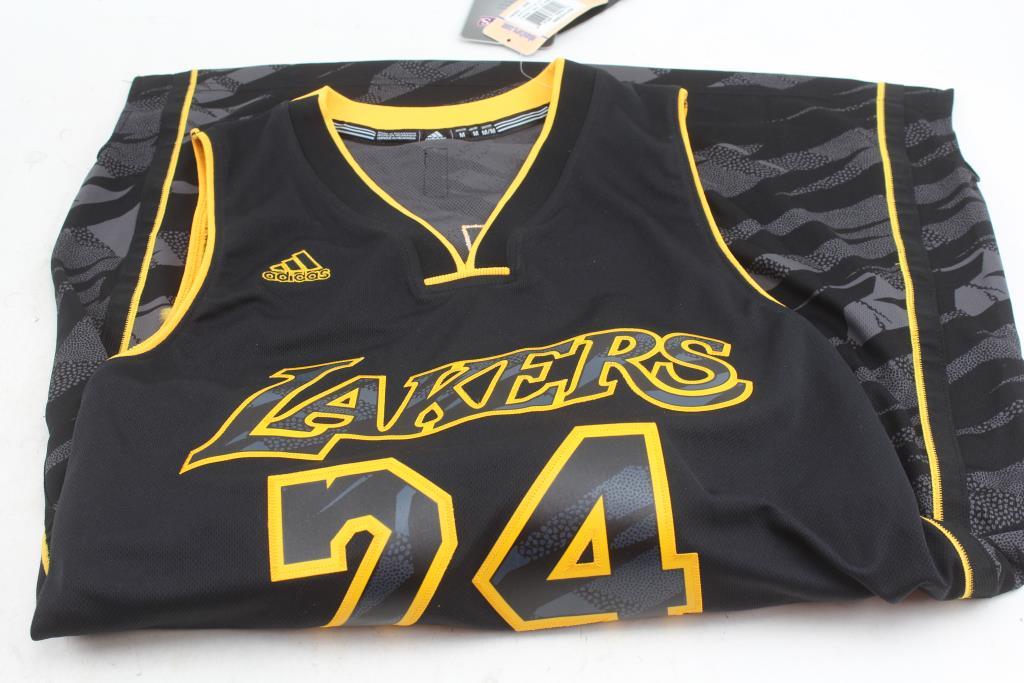 d8a7eaebf Image 1 of 2. Kobe Bryant Adidas LA Lakers Nba Basketball Jersey