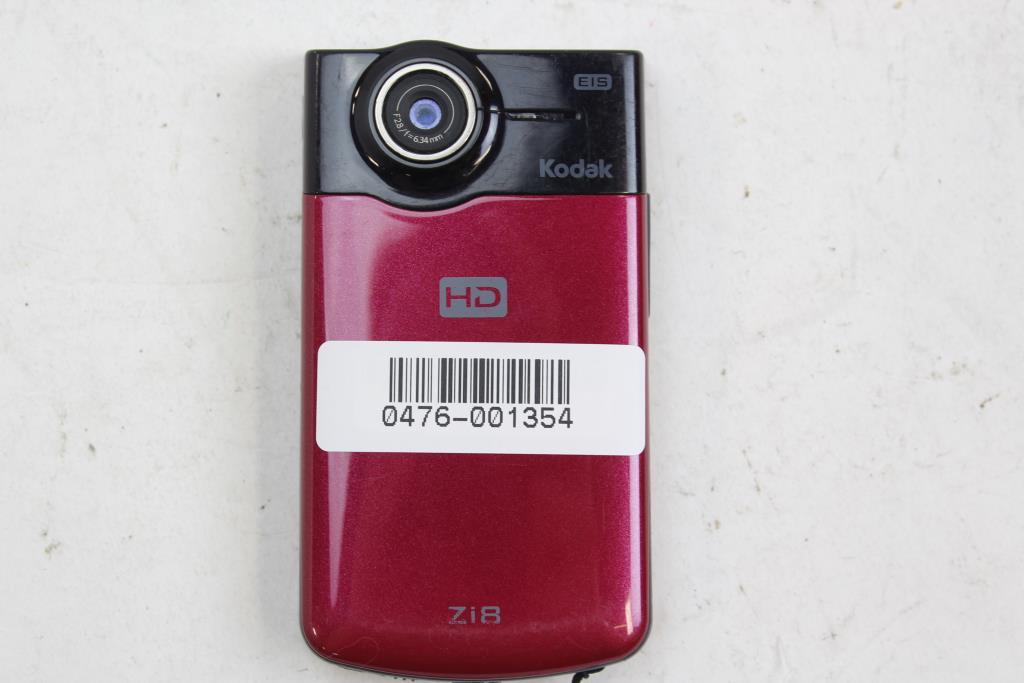 kodak zi8 pocket video camera property room rh propertyroom com Kodak Zi10 Kodak Camcorder