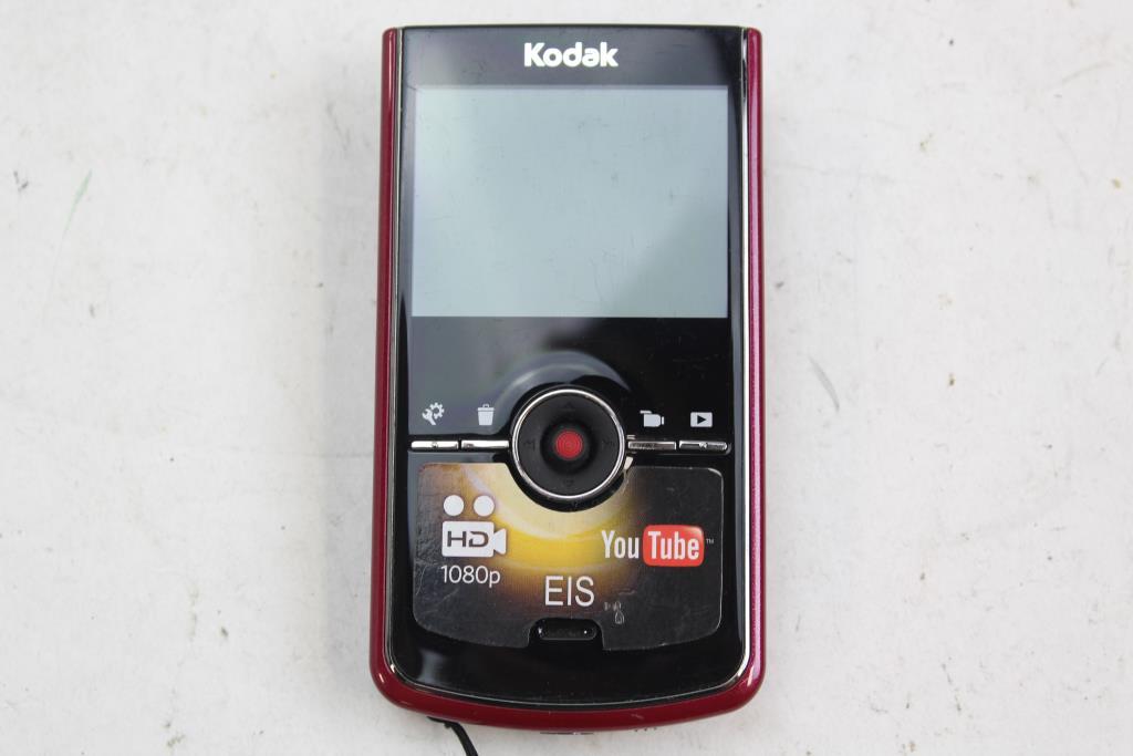 kodak zi8 pocket video camera property room rh propertyroom com Kodak Camcorder Kodak Zi8 Instruction Manual