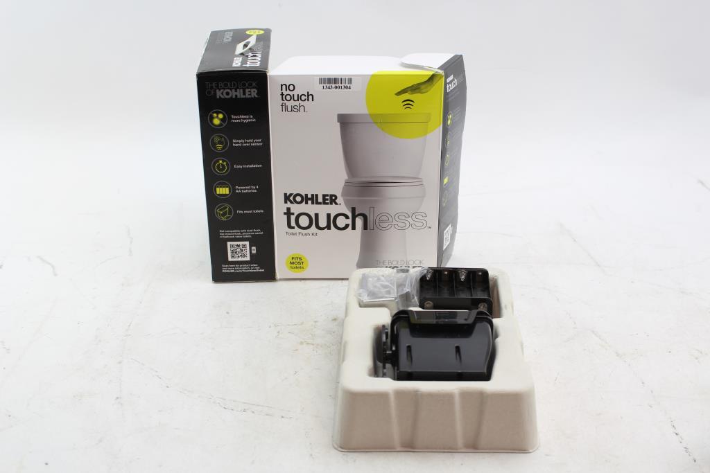 Kohler Touchless Toilet Flush Kit Property Room