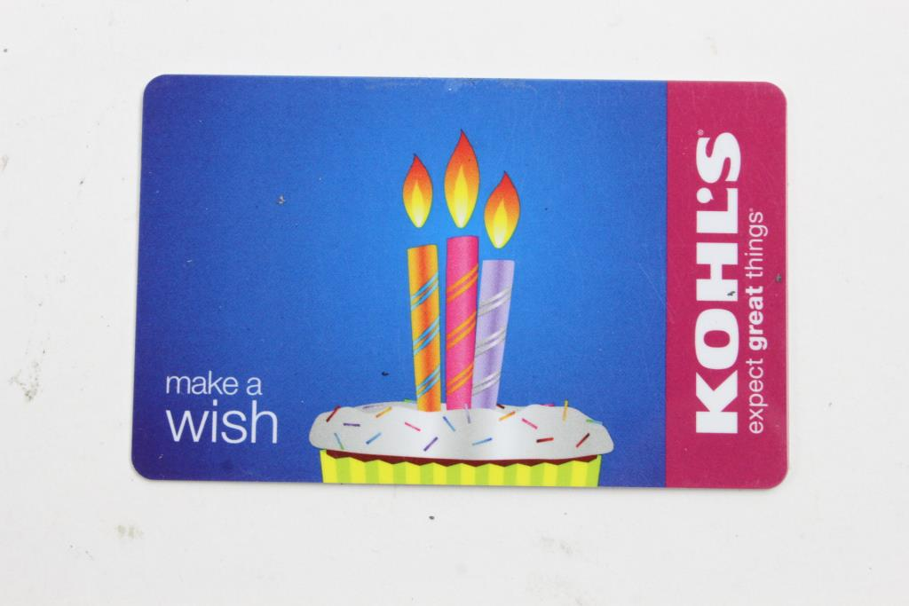 An Image Relevant To This Listing Kohls Gift Card