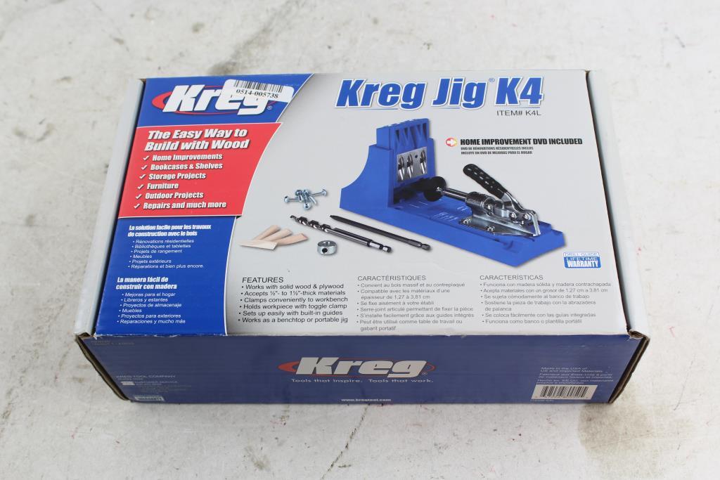 Kreg Jig K4 Pocket Hole System | Property Room
