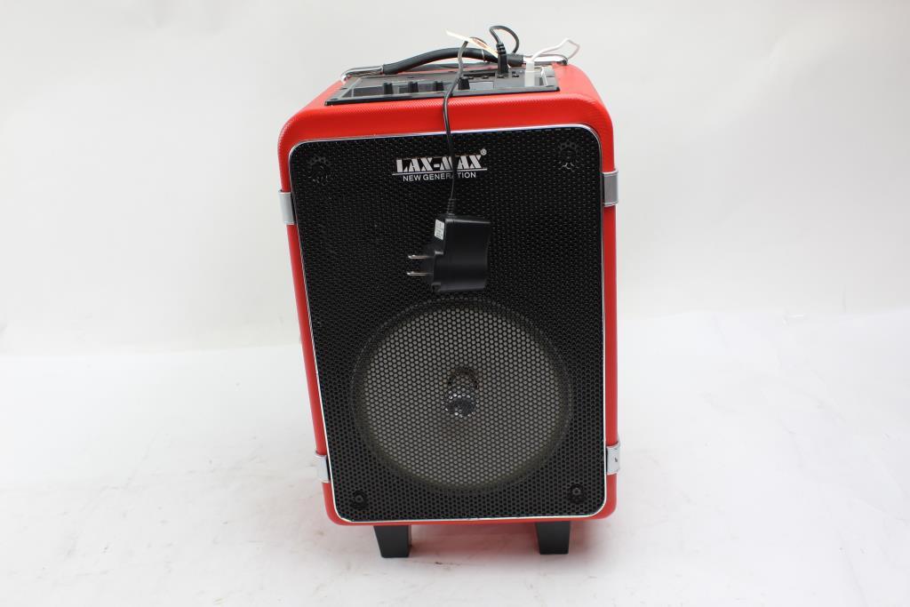 Lax-Max Bluetooth Trolly Speaker  Property Room