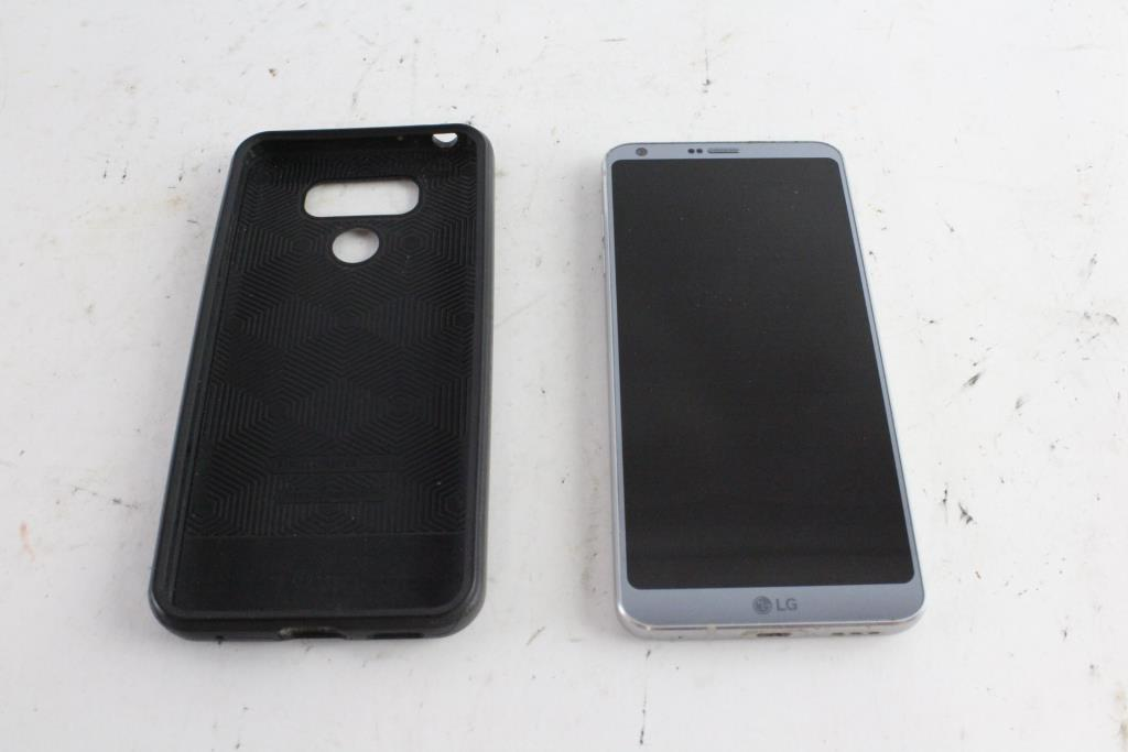 LG G6, Google Account Locked, Sold For Parts | Property Room