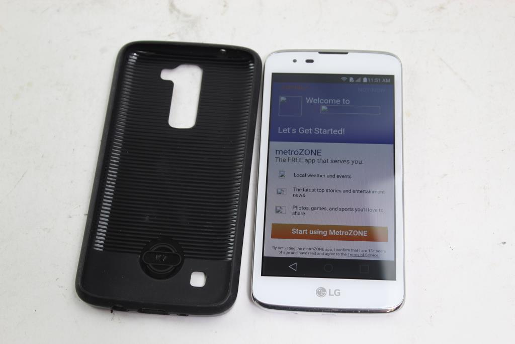 LG K7, 8GB, MetroPCS, Google Account Locked, Sold For Parts