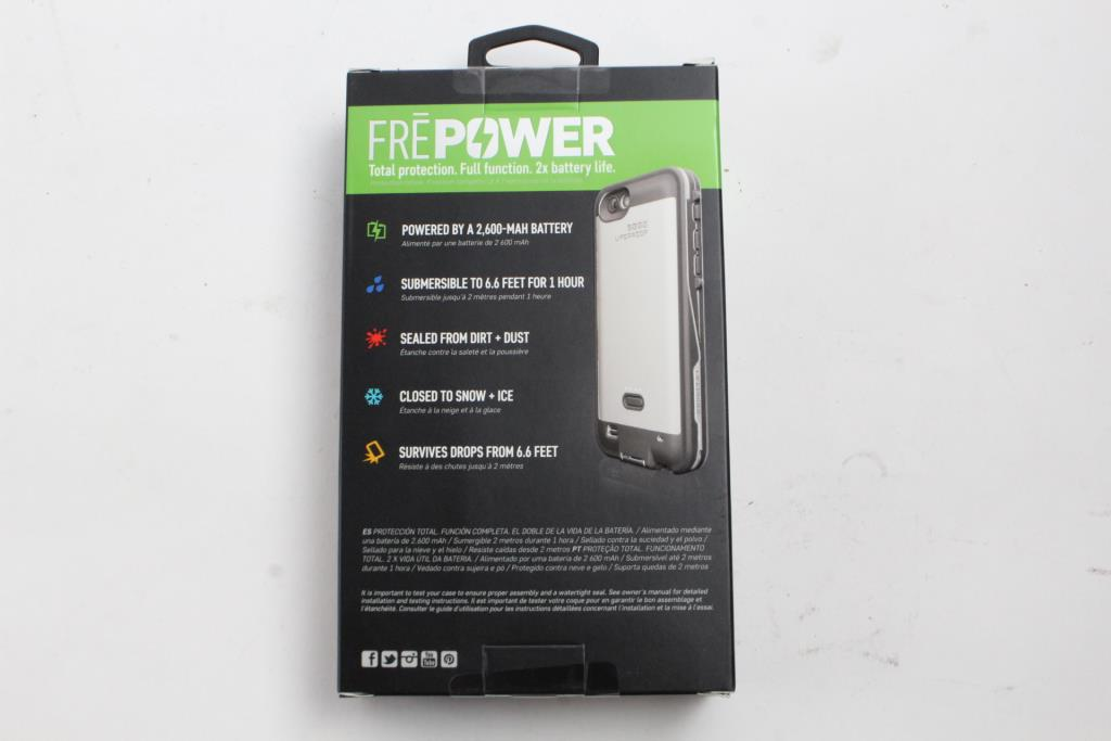 dfcfc26ffd2 Lifeproof Fre Power Battery Case For Apple Iphone 6/6s | Property Room