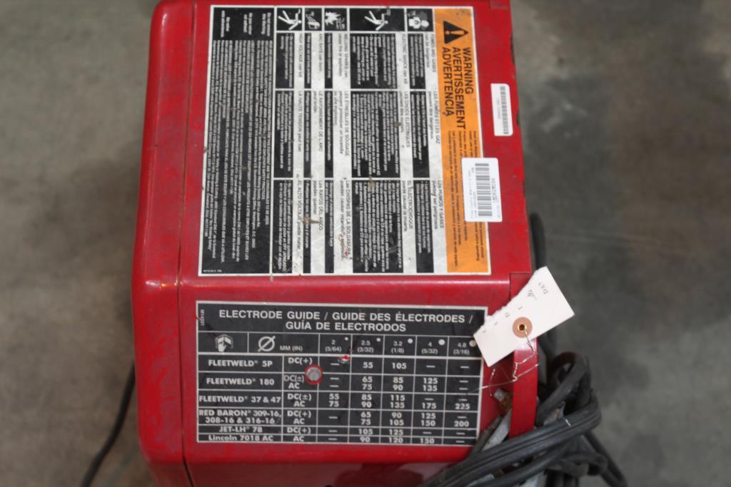 Lincoln Electric K1170 Ac 225 Arc Welder