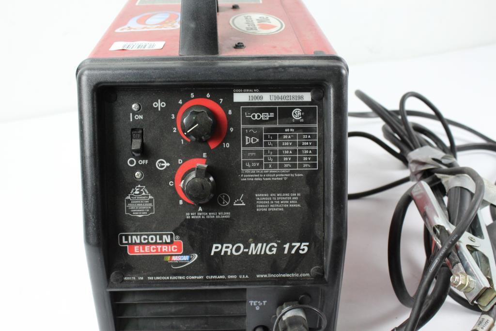 Lincoln Electric Pro-MIG 175 Arc Welder | Property Room