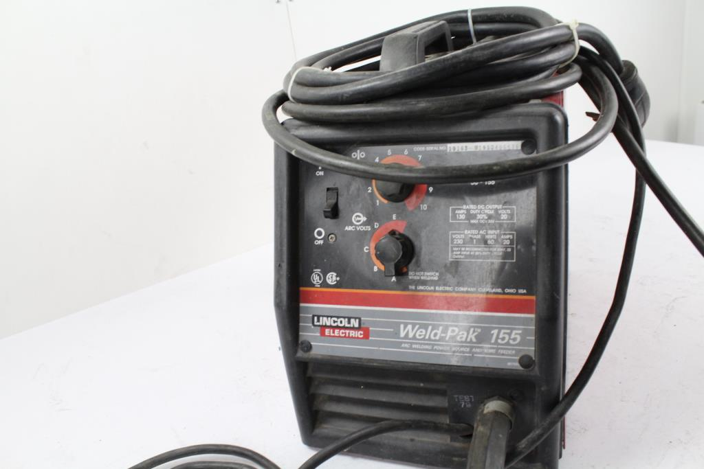 Lincoln Electric Weld Pack 155 Arc Welder