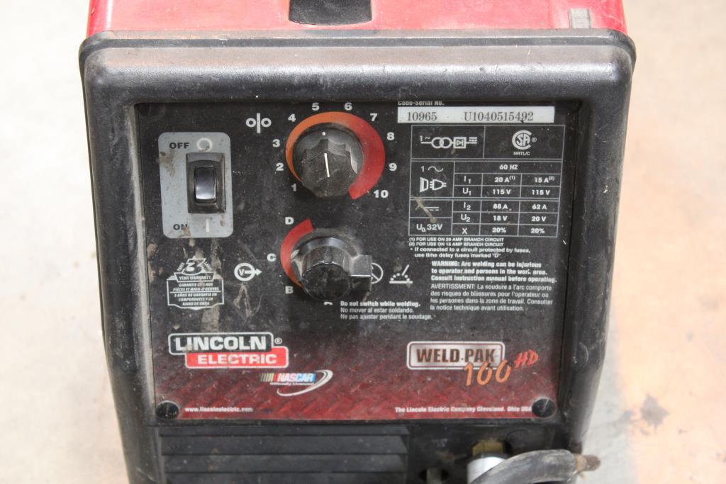 Lincoln Electric Weld Pak 100 Hd