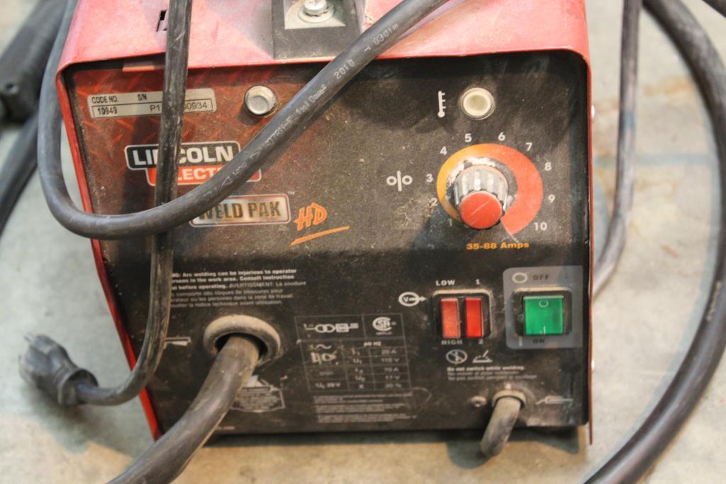 Lincoln Electric Weld Pak Hd 10949