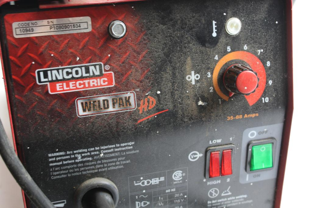 Lincoln Electric Weld Pak Hd Property Room