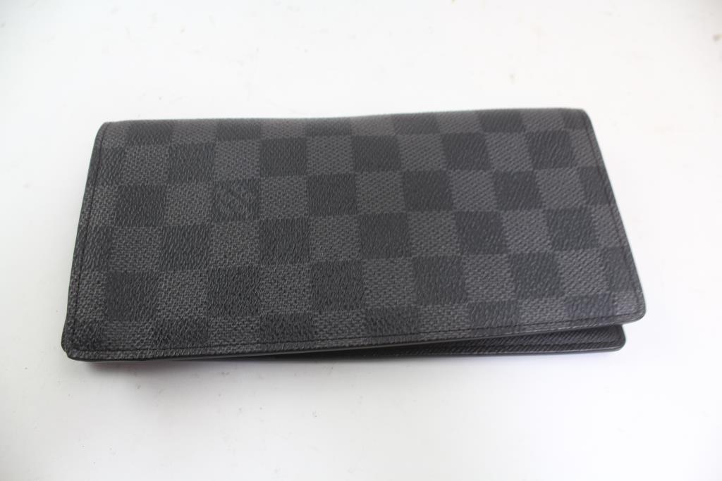 Louis Vuitton Bi Fold Women S Card Wallet With Zipper Coin Purse Property Room