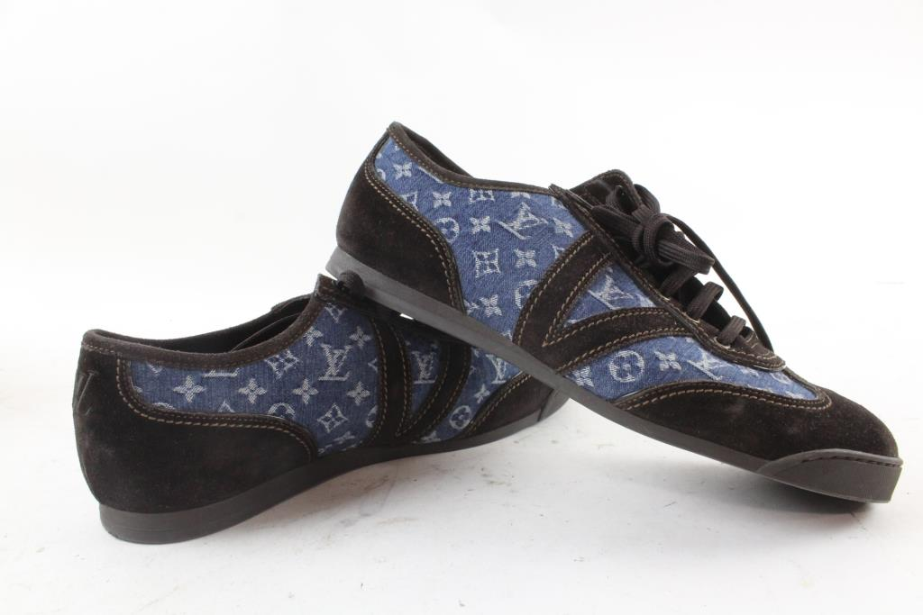 Louis Vuitton Mens Shoes, Size 7-1/2