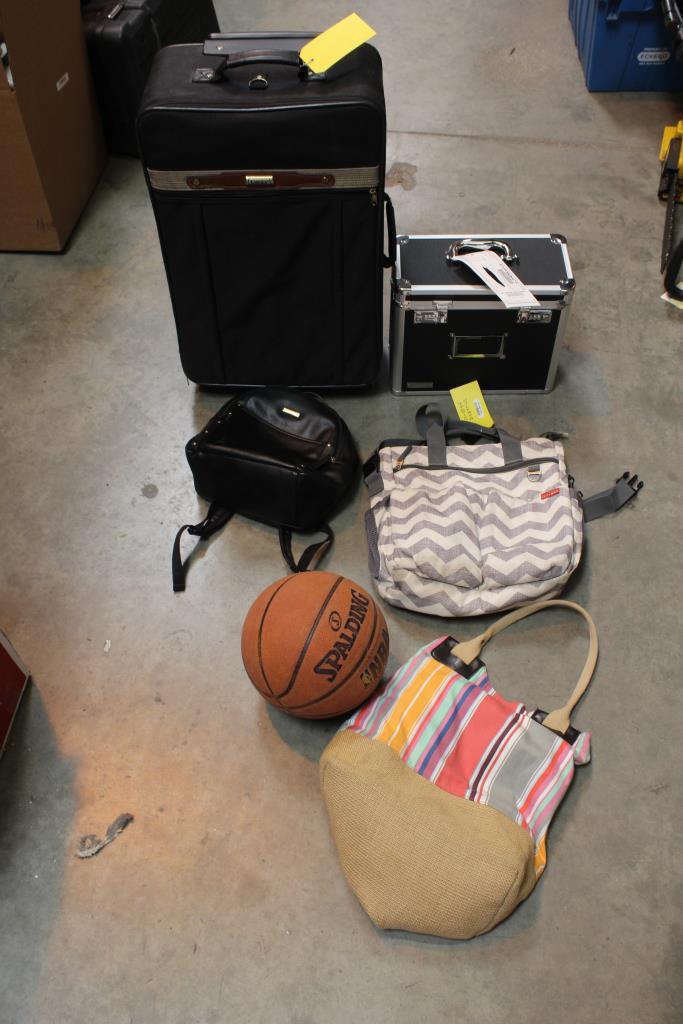 Lucas 2 Piece Luggage Set, Vaultz Locking Storage Chest And More