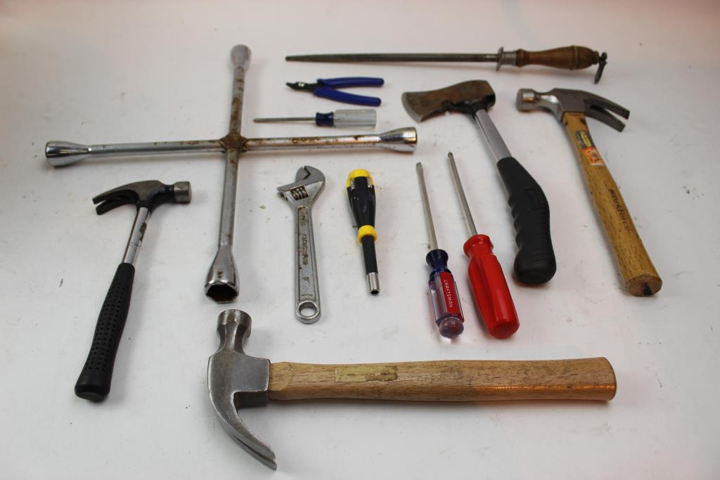 Lug Wrench Hammers Hatchet Crescent Wrencheore Craftsman 10 Items