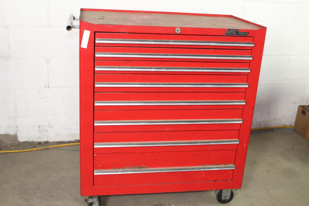 Mac Tools 8 Drawer Rolling Toolbox With Tools 50 Pieces
