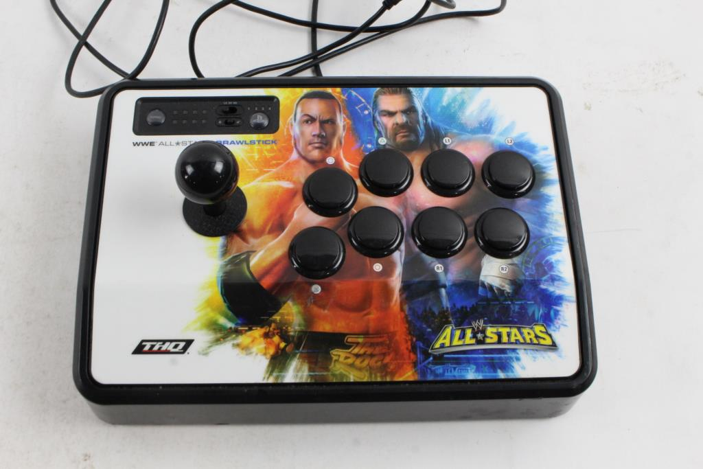Mad Catz WWE All Stars Brawl Stick Controller For Sony PS3