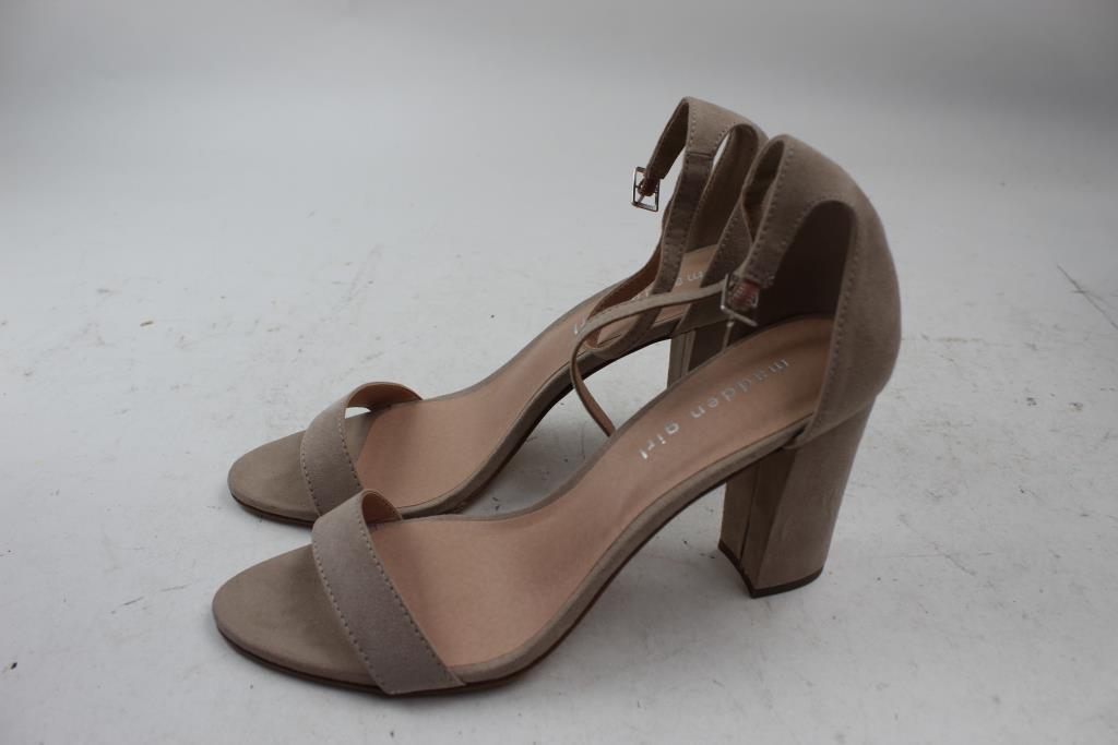 f98029682d2 Madden Girl Women s Beella Sandals Size 9