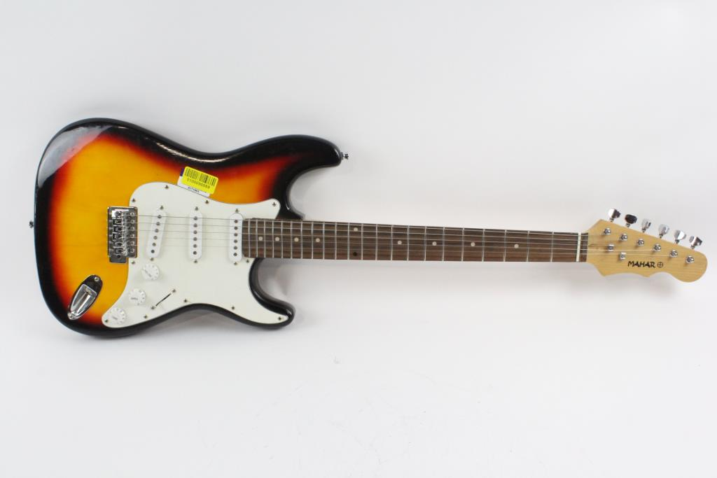 mahar electric guitar property room