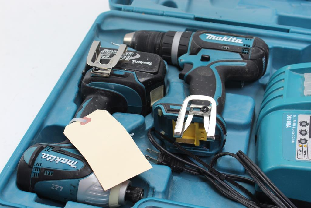 Makita Impact Driver, Drill, Charger | Property Room
