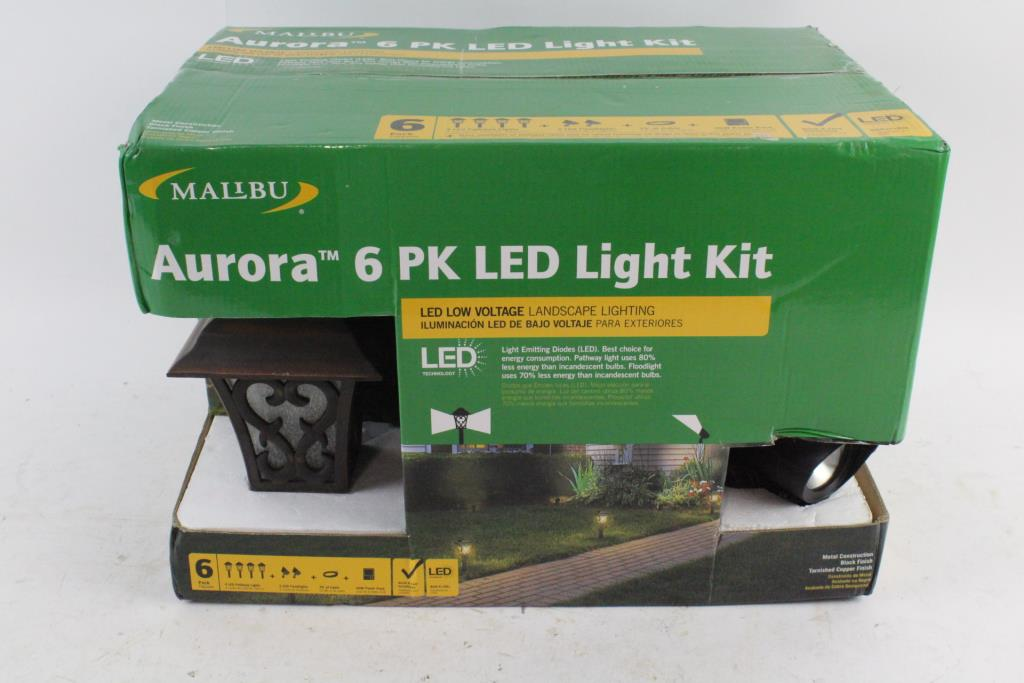 Malibu 6 Pk Led Light Kit